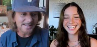 Eddie Vedder e Lily Cornell