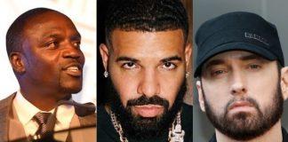 Akon, Drake e Eminem