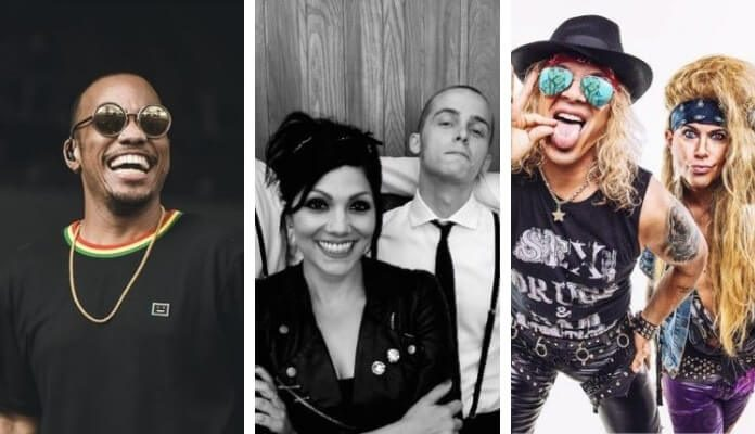 Anderson Paak, The Interrupters, Steel Panther