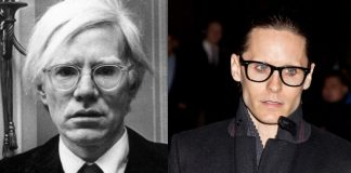 Andy Warhol e Jared Leto