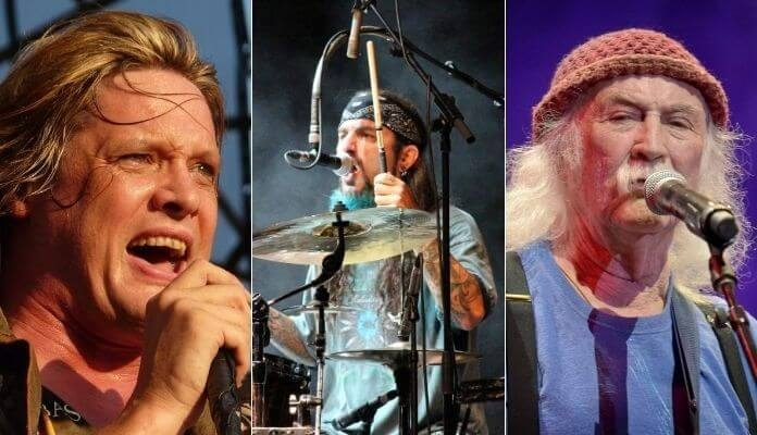 Sebastian Bach, Mike Portnoy e David Crosby fazem críticas a presidente do Spotify