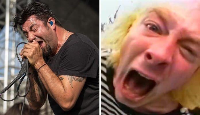 Chino Moreno (Deftones) e Thom Yorke (Radiohead)