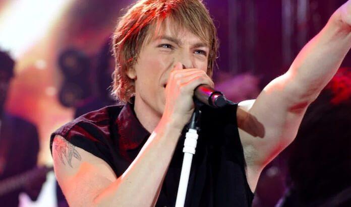Di Ferrero cantando Bon Jovi