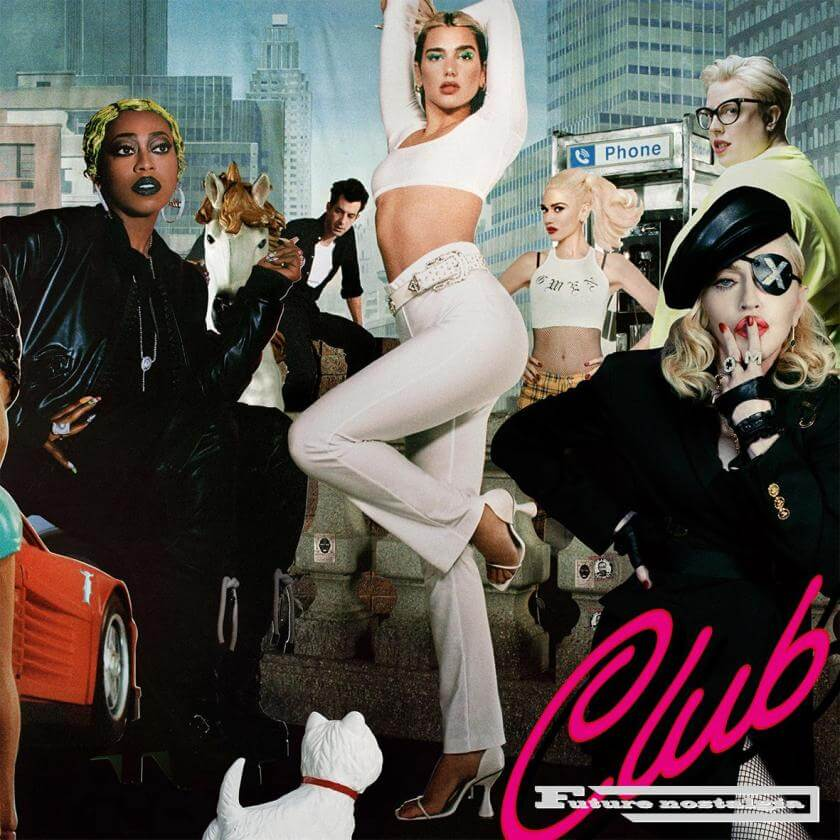 "Dua Lipa - ""Club Future Nostalgia"""