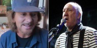Eddie Vedder relata ajuda do The Who