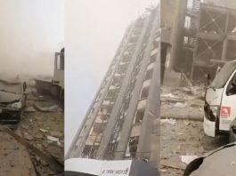 Explosão em Beirute: ruas e carros após incidente