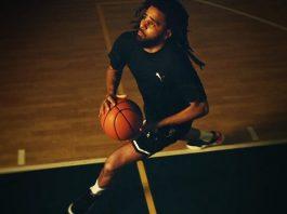 J Cole jogando basquete