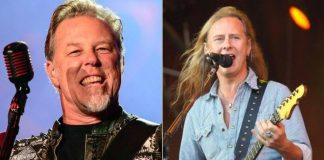 James Hetfield e Jerry Cantrell