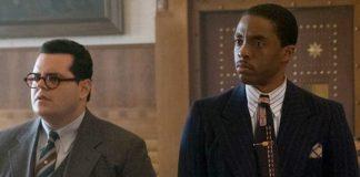 Josh Gad e Chadwick Boseman em Marshall