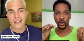 Justin Bieber e Will Smith brasileiros