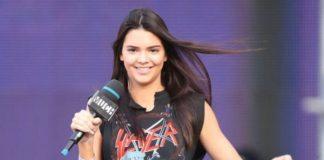 Kendall Jenner usa camiseta do Slayer