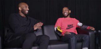 Kendrick Lamar e Kobe Bryant