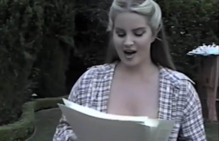 Lana Del Rey recita poema de seu audiobook