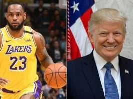 LeBron James e Donald Trump