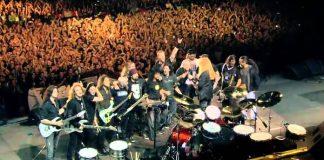 """Metallica - """"Am I Evil?"""" com o Big 4"""