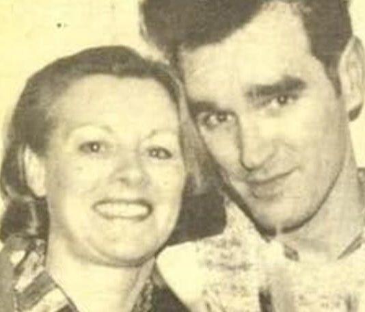 Morrissey e sua mãe, Elizabeth