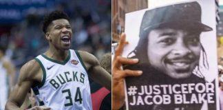 Jogadores da NBA protestam por Jacob Blake
