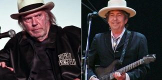 Neil Young e Bob Dylan