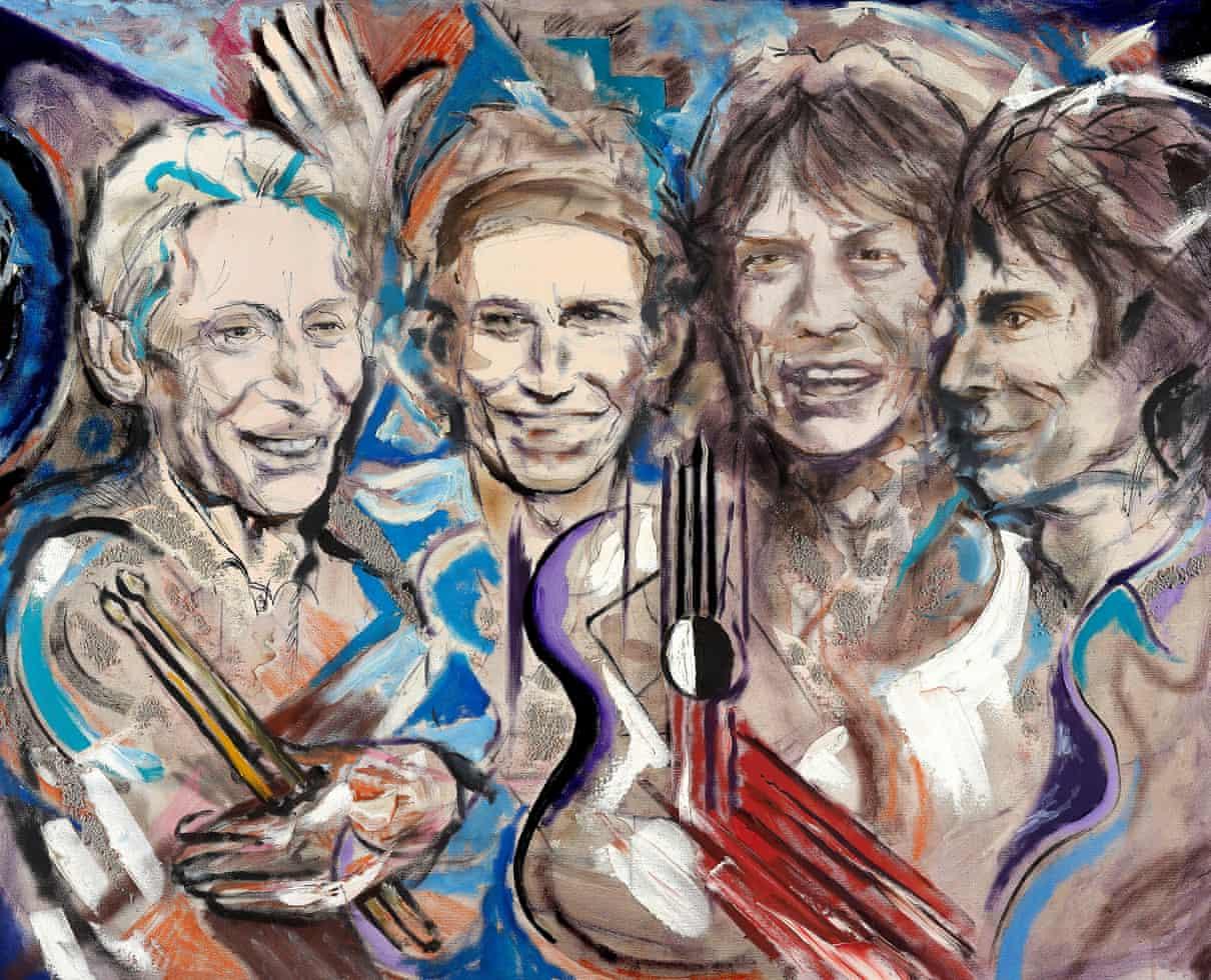 Obras de arte de Ronnie Wood