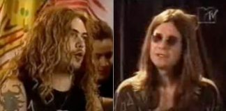 Sepultura e Ozzy Osbourne em documentário de 1996