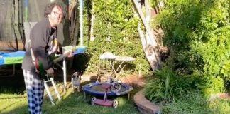 Steve Lukather lidando com vizinho barulhento