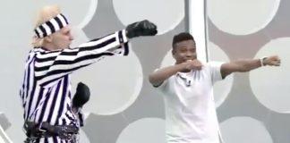 """Supla ensina Edílson Capetinha a dançar """"Kung Fu on You"""""""