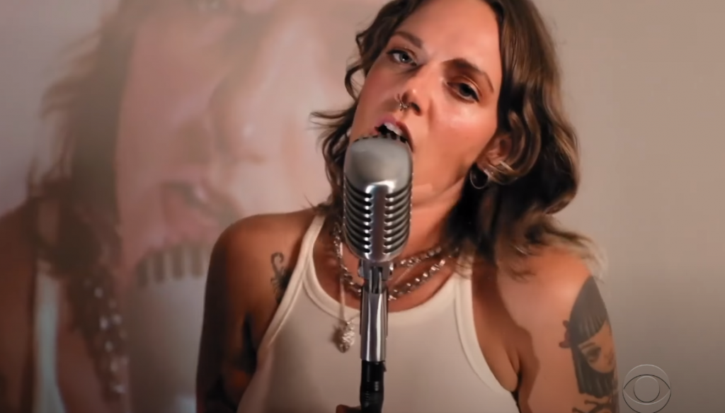 Tove Lo no The Late Show with Stephen Colbert