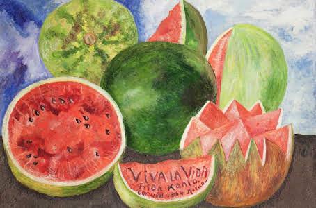 """""""Viva la Vida"""" (Frida Kahlo)"""