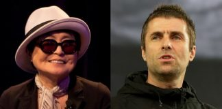 Yoko Ono e Liam Gallagher