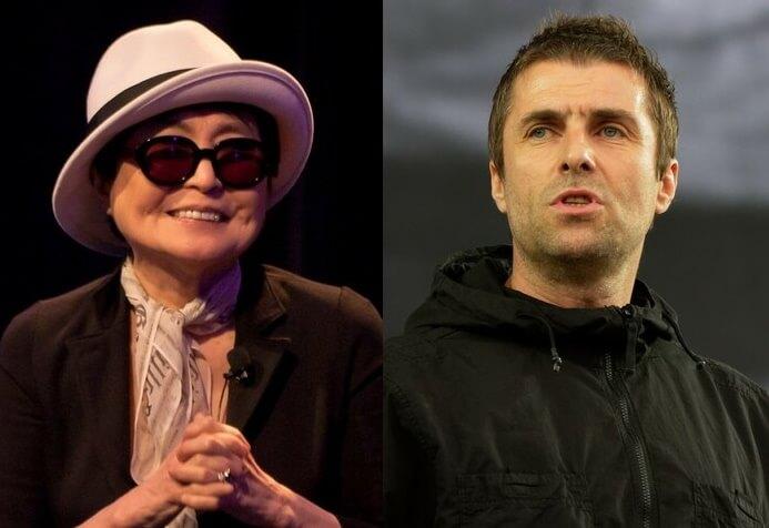 Yoko Ono e Liam Gallagher