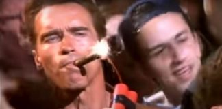 Arnols Schwarzenegger e Shavo Odadjian