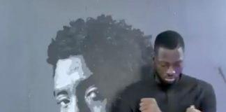 Boubou faz homenagem a Chadwick Boseman