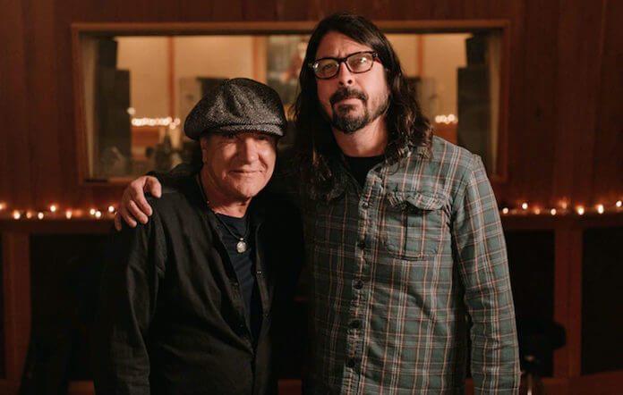Brian Johnson e Dave Grohl
