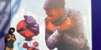 Mural de Chadwick Boseman na Disney
