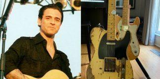 Chris Carrabba e as guitarras