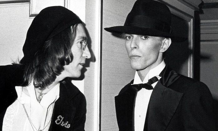 David Bowie e John Lennon