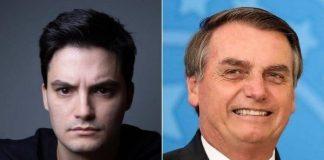 Felipe Neto e Jair Bolsonaro