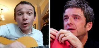 David Brewis (Field Music) e Noel Gallagher