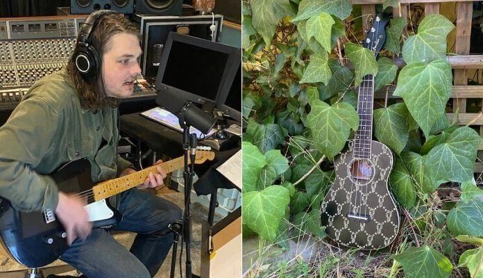 Gerard Way e ukulele de Billie Eilish