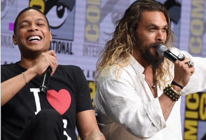 Jason Momoa e Ray Fisher