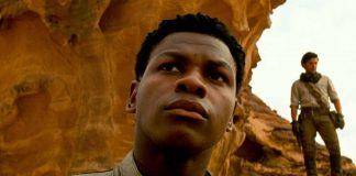 """John Boyega como Finn em """"Star Wars"""""""