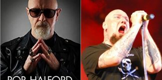 Rob Halford (Judas Priest) e Paul Di'Anno (Iron Maiden)