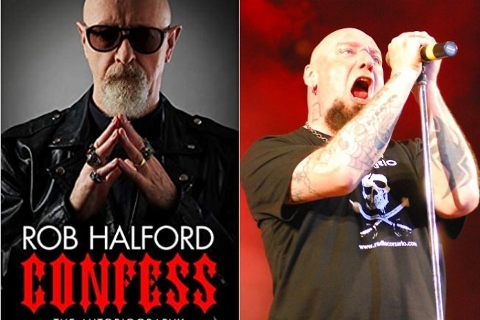 Rob Halford (Judas Priest) e Paul Di'Anno (Iron Maiden)