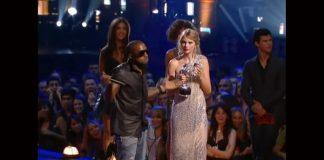 Kanye West interrompe Taylor Swift