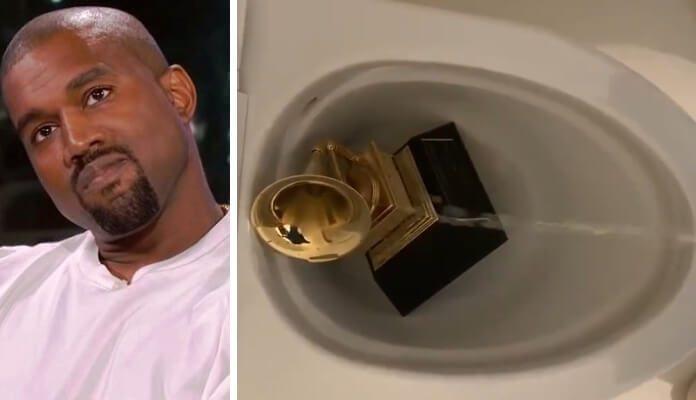 Kanye West urina em Grammy, compartilha contratos e ataca indústria da  música