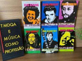 Promoção de livros sobre música
