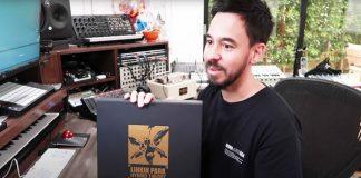 """Mike Shinoda faz unboxing de edição deluxe de """"Hybrid Theory"""""""