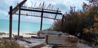 Destruição em Moçambique