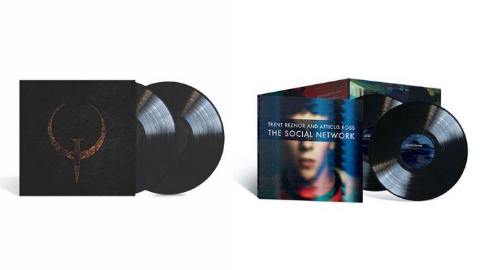 Novos discos de vinil do Nine Inch Nails