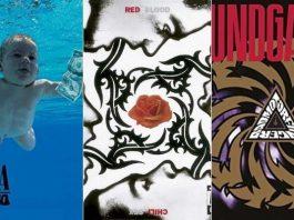 """Nevermind"", do Nirvana, ""Blood Sugar Sex Magik"", do RHCP e ""Badmotorfinger"", do Soundgarden"